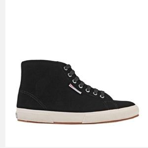 Superga black high tops